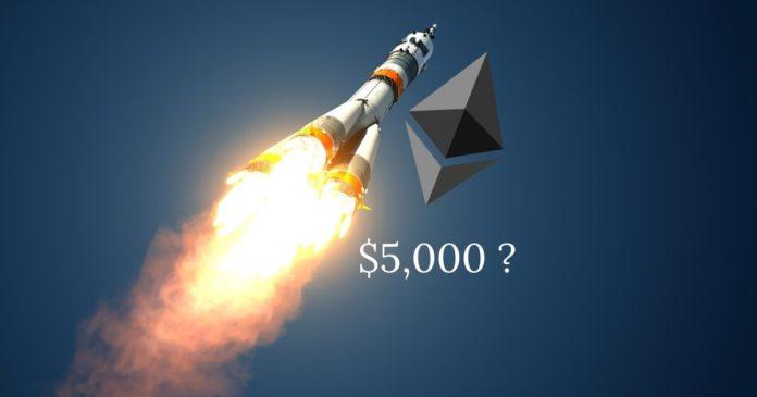 ETH-prisförutsägelse - $ 5000?
