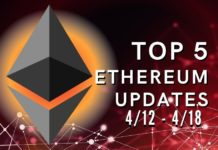Top 5 Ethereum (ETH) Updates: 4/12 - 4/18