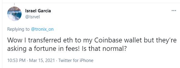 Coinbase-avgifter