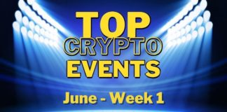 Top Upcoming Crypto Events | June Week 1