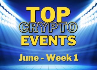 Top Upcoming Crypto Events   June Week 1