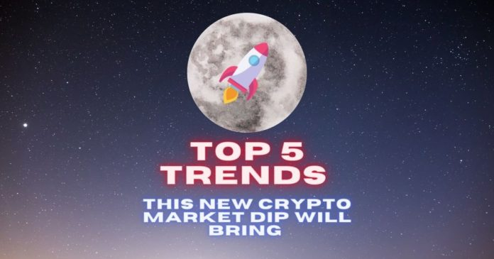Top 5 Trends This New Crypto Market Dip Will Bring