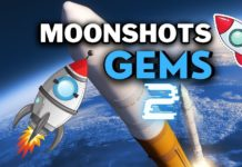 Top upcoming crypto moonshot projects