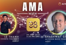 Coin98 Finance AMA – Session with Founder, Lê Thanh