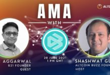 Co-founder of B21, Nitin Agarwal's AMA With Altcoin Buzz