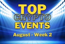 Top Upcoming Crypto Events   August Week 2