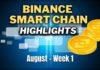 Top Binance Smart Chain (BSC) Updates | August Week 1