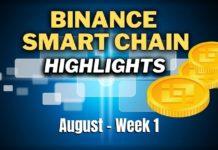 Top Binance Smart Chain (BSC) Updates   August Week 1