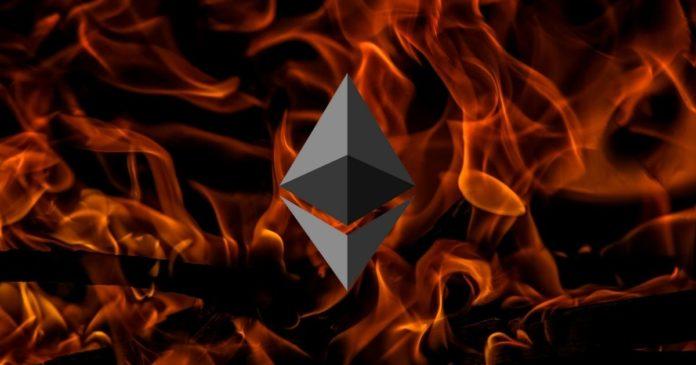 Ethereum Network Has Burnt $84M in Under a Week