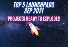 Top 5 launchpads sep 2021