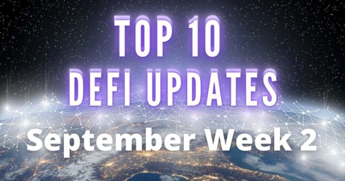 DeFi updates september week 2