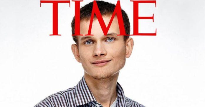Time Magazine Vitalik Buterin
