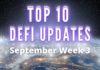 DeFi updates Week 3 september