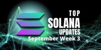 Solana updates week 3 september