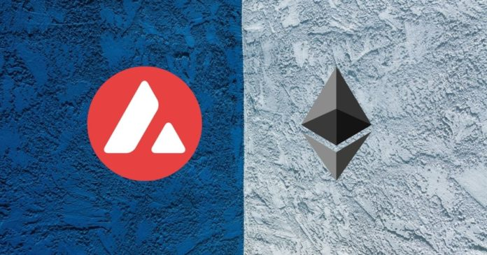 transfer tokens ethereum avalanche