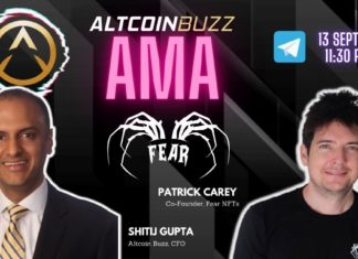 Fear AMA With Co-Founder Patrick Carey