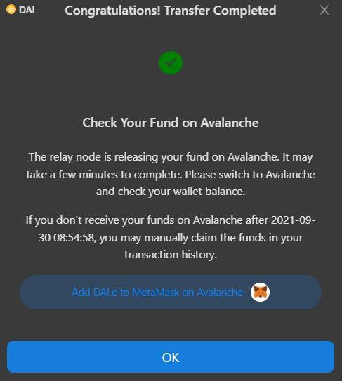 Ethereum-Avalanche Bridge