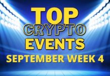 Top Upcoming Crypto Events | September Week 4
