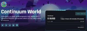 Continuum World Seedify