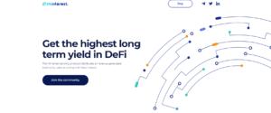 Minterest yield DeFi