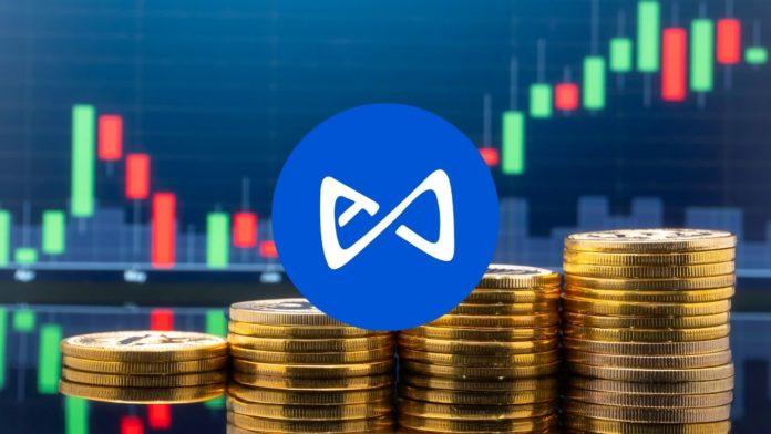 AXS price stake