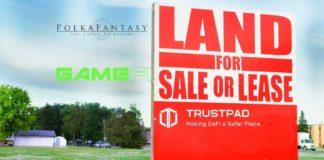 Polkafantasy GameFi Trustpad land sale