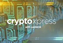 CryptoXpress app launch