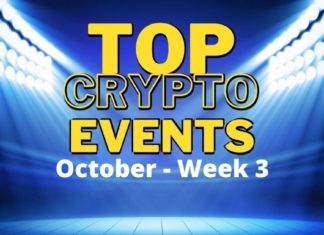 Top crypto events October week 3
