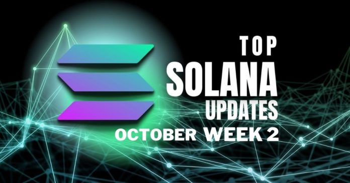 Solana updates october week 2