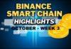 Binance Smart Chain Updates October Week 3