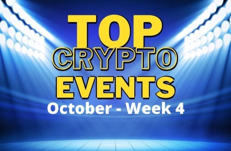 Top crypto events october week 4