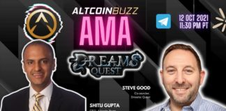 Dreams Quest AMA With Co-Founder Steve Good