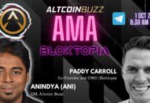 Bloktopia AMA Altcoin Buzz