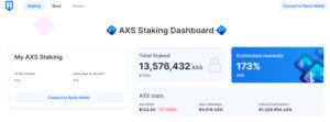 Axie Infinity Staking Dashboard