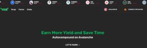 YieldYak Avalanche DeFi ecosystem